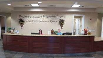 Premier Eyecare Optometric Center Front Desk